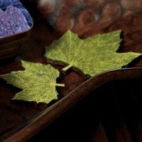 Wooden Die Cut Maple Leaves (Set of 12)