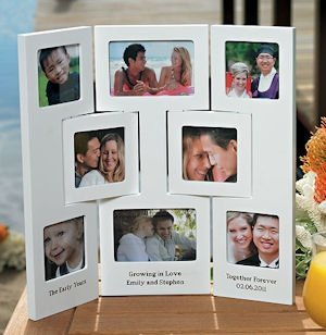 Personalized 3 Panel Photo Frame image