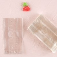 Clear Flat Bottom Gusset Cellophane Bags (Set of 100)