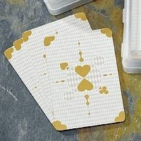 Golden Hearts Playing Card Favors