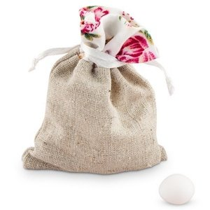 Tea Rose Mini Drawstring Pouch - Set of 12 image