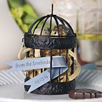 Miniature Decorative Round Birdcages - Set of 4
