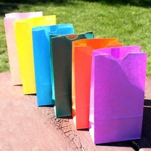 Standing Paper Goodie Bags - 13 Colors image
