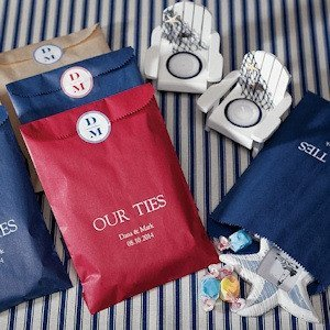 Flat Pocket Style Paper Goodie Bags - 13 Colors image