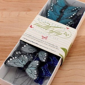 Decorative Butterfly Sets - 4 Colors image