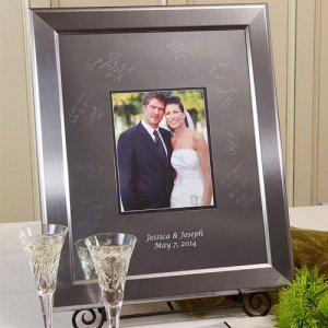 Keepsake Titanium Inscribable Signature Mat Frame image