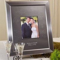 Keepsake Titanium Inscribable Signature Mat Frame