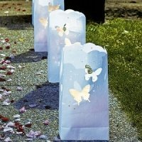 Butterfly Die Cut Luminary Bags (Set of 12)