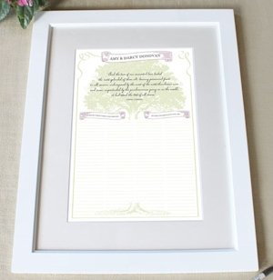 Custom 'Stood the Test of Time' Framed Certificate image