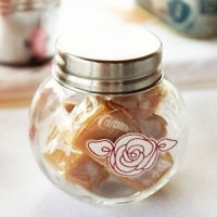 Mini Glass Candy Jar With Lid (Set of 12)