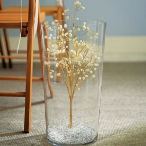 Pearl & Vintage Gold Wire Ornamental Tree image