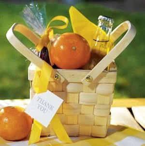 Decorative Picnic Basket - Medium image