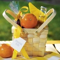 Decorative Picnic Basket - Medium