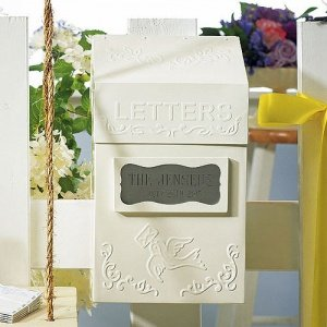 Special Delivery Letter Box (Guest Book Alternative) image
