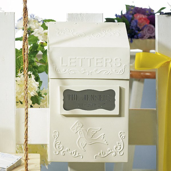 Alternative Gifts For Wedding Party : Special Delivery Letter Box (Guest Book Alternative)