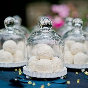 Miniature Glass Bell Jar with Base (Set of 4) image