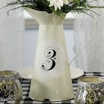 French Provencal Style Enamel Pitcher