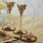 Elegant Vintage Rose Pen Set