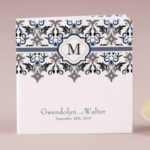 Lavish Monogram Notepad Favors (Set of 12) image
