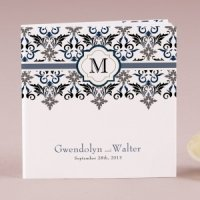 Lavish Monogram Notepad Favors (Set of 12)