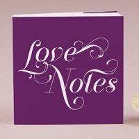 'Love Notes' Notepad Favors (Set of 12 - 16 Colors)