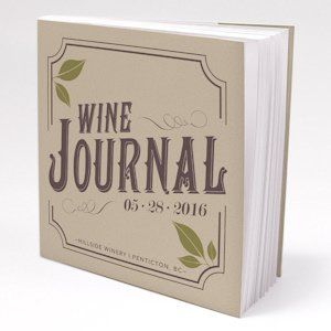 Personalized Wine Wedding Favor Notepads (Set of 12) image