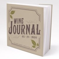 Personalized Wine Wedding Favor Notepads (Set of 12)