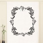 Love Bird Damask Personalized Photo Backdrop