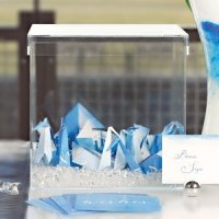 Acrylic Wishing Well Box (Wedding Guest Book Alternative)