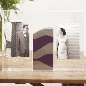 'Clearly Love Unity Sand Picture Frames Box image