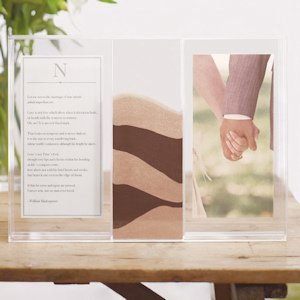 Clearly Love Sand Ceremony Frame & Shadow Box image
