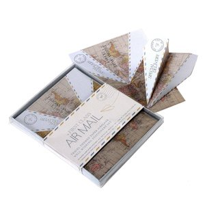 Paper Airplane Wishing Well Stationery Set (Set of 25) image