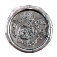 French Flexible Wax Seals - Silver or Gold (Set of 5)