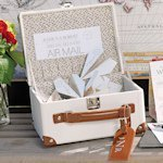 Mini Suitcase Wishing Well (Alternative Wedding Guest Book)