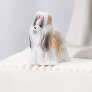 Miniature Dog Figurine Cake Toppers (5 Designs) image