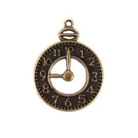 Clock Charms (Set of 12)