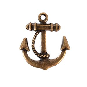 Boat Anchor Charm (Set of 12) image