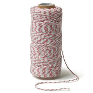 Striped Cotton Baker's Twine (Many Colors) image