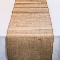 Rustic Wedding Burlap Table Runner (2 Sizes)
