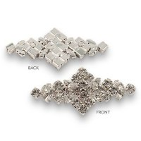 Diamond Shaped Crystal Accent