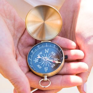 Adventurers Compass Travel Themed Favors (Set of 6) image