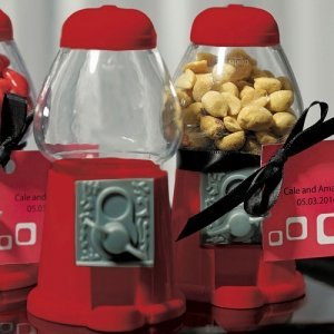 Red Gumball Machine Favors image