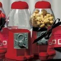 Red Gumball Machine Favors