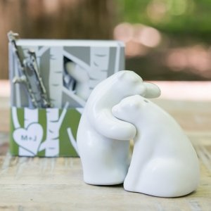 Bear Hug Gift Boxed Mini Salt and Pepper Shakers image