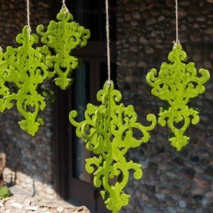 Decorative Artificial Moss Chandelier image