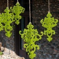 Decorative Artificial Moss Chandelier