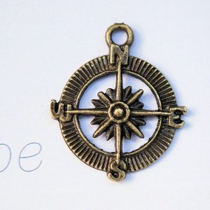 Compass Charms (Set of 12) image