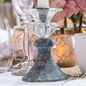 Vintage Inspired Taper Candle Holder image