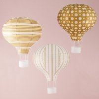 Hot Air Balloon Paper Lantern Set of 3