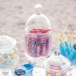 Candy Bar Decorative Pedestaled Apothecary Jar (3 Styles)